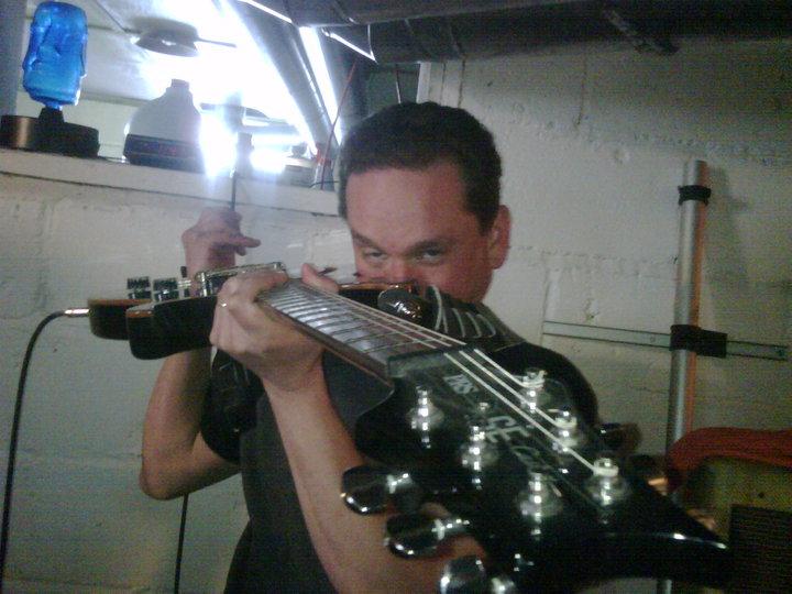Jon Preston Bouda from the band Discipline (2012)