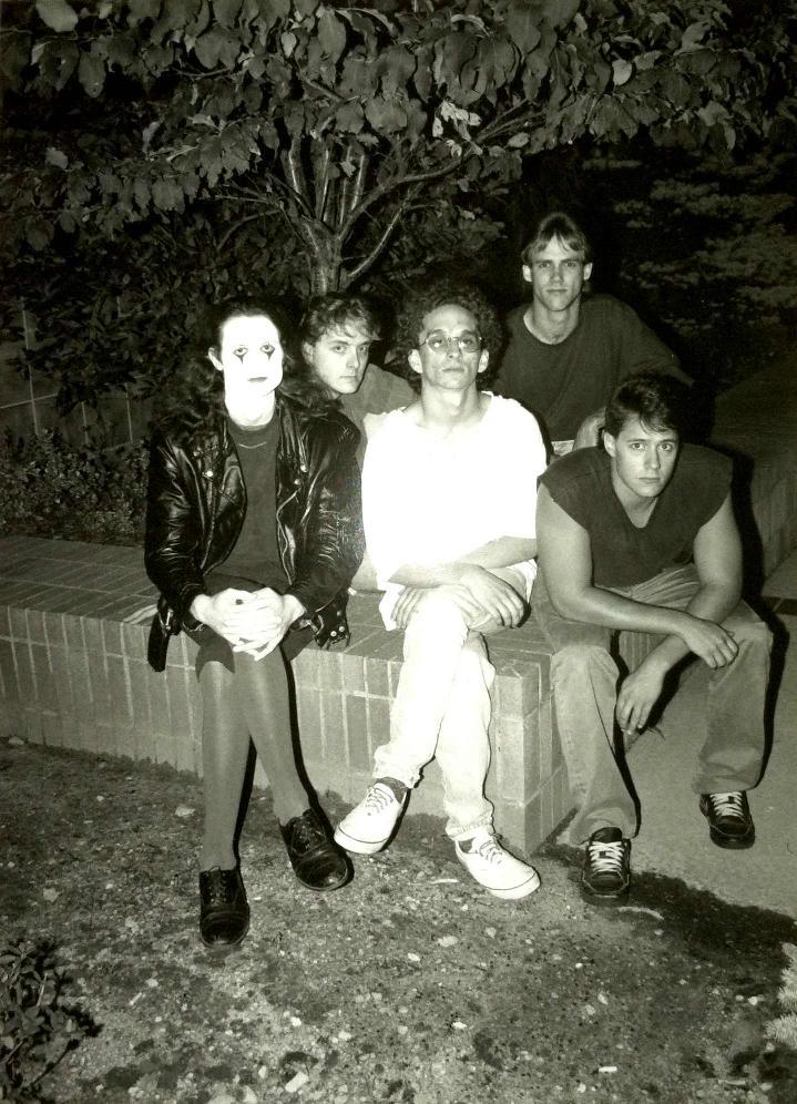Discipline band 1993 - Left to Right: Parmenter, Kennedy, Bouda, Krofchok, Dzendzel