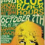 Discipline & Blue Black Hours show at Loving Touch in Ferndale, MI