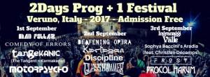 Italy 2Days Prog+1 festival 2017