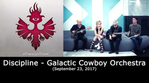 Discipline - Galactic Cowboy Orchestra - September 23 2017 - NJ Proghouse